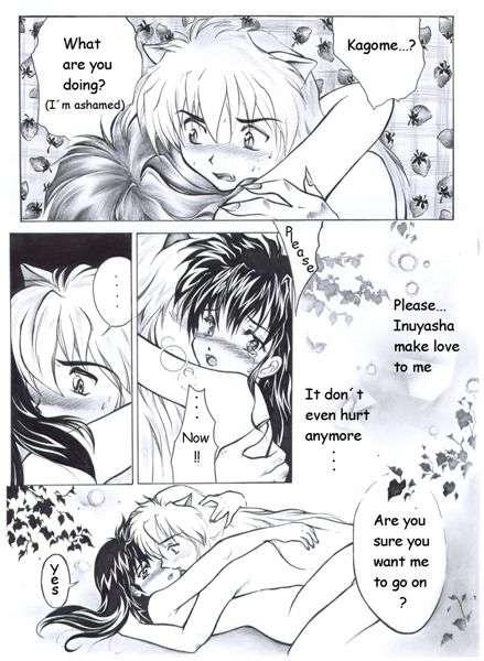 Inuyahsha hentai doujinshi scans