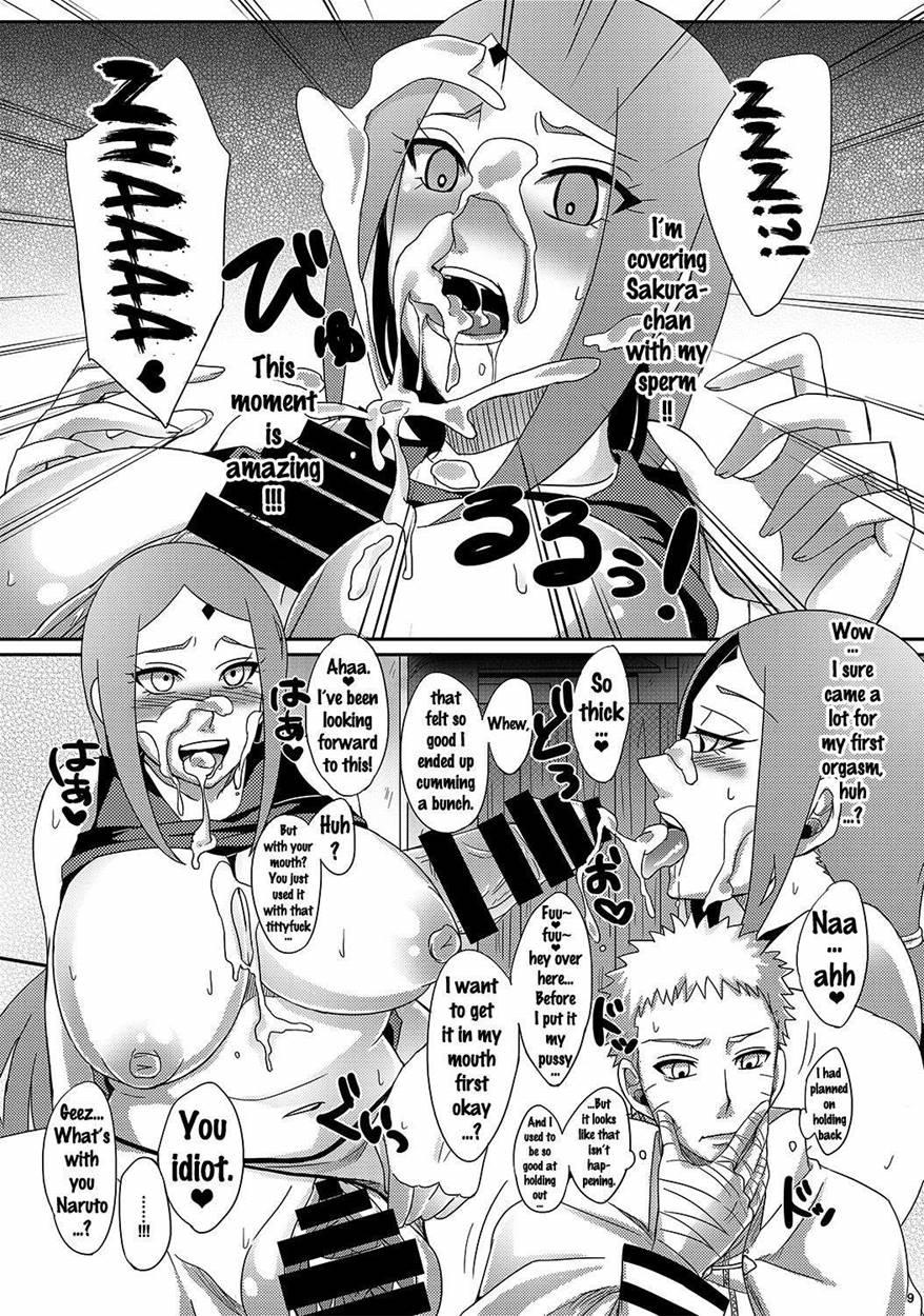 Narusaku hentai comics, jenavive jolie anal