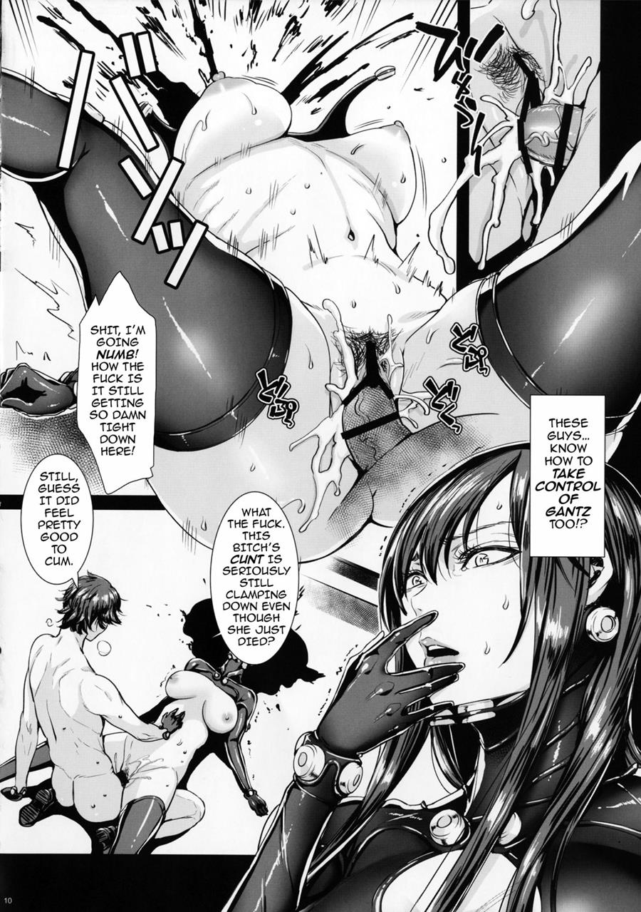 Hentai Gantz intended for reading gamez:0 (doujinshi) hentaifei - 1: gamez:0 - page 9