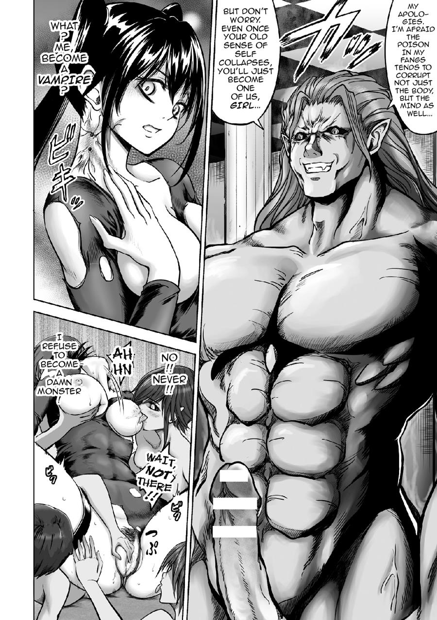 Hentai Vampire Girl within reading the girl dyed in vampire blood (original) hentai