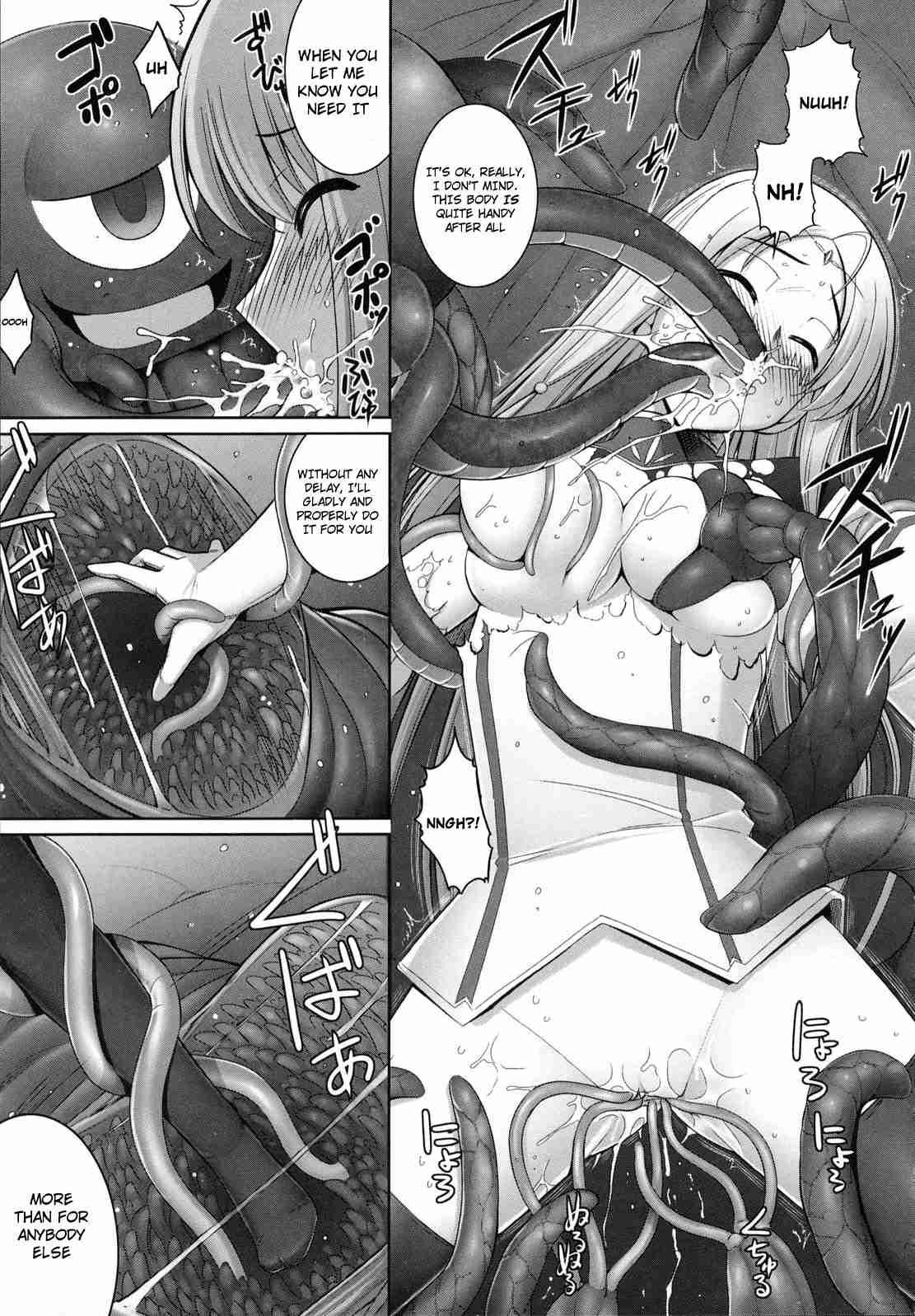 Hentai manga tentacles