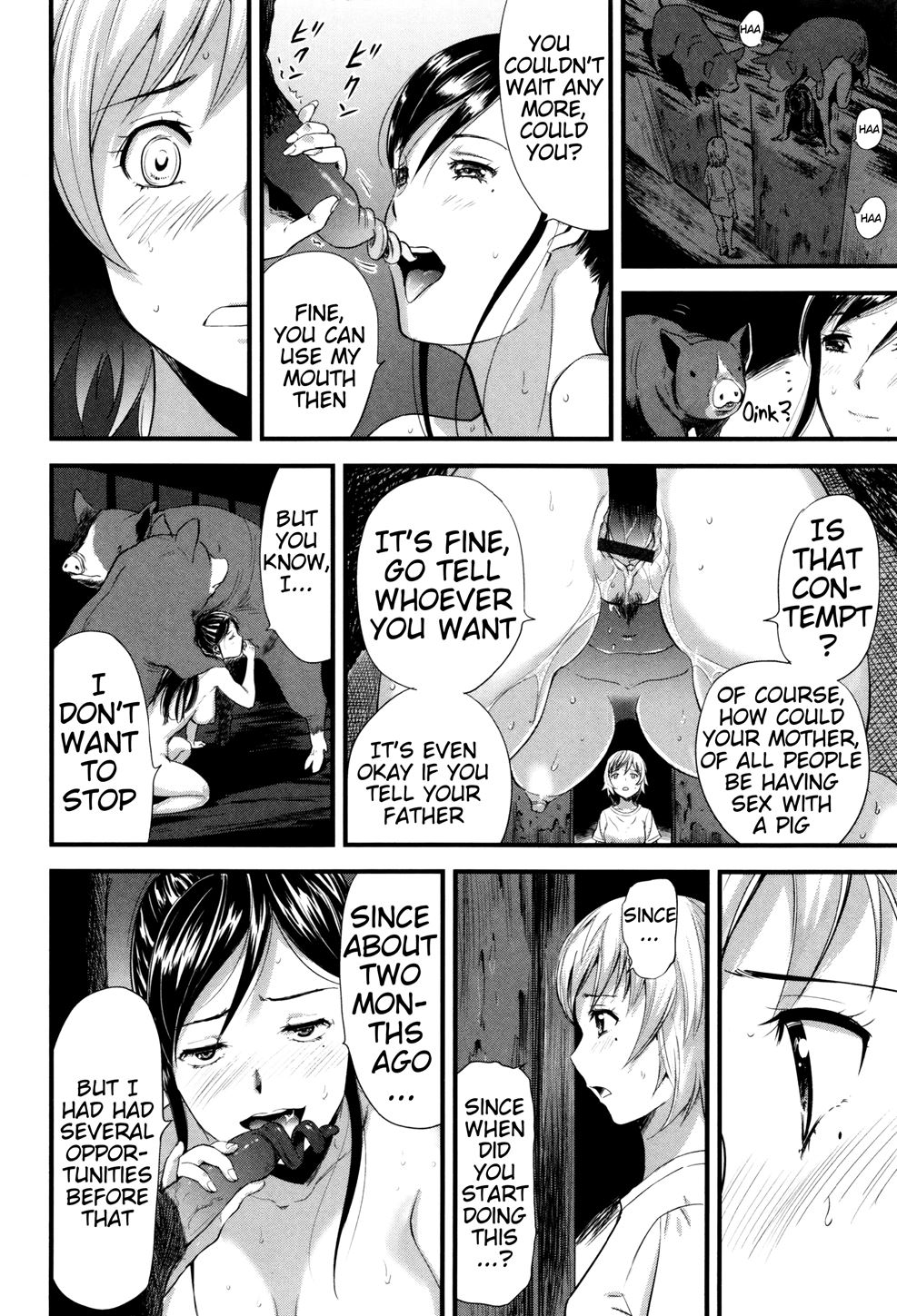 Hentai mother and daughter Incest