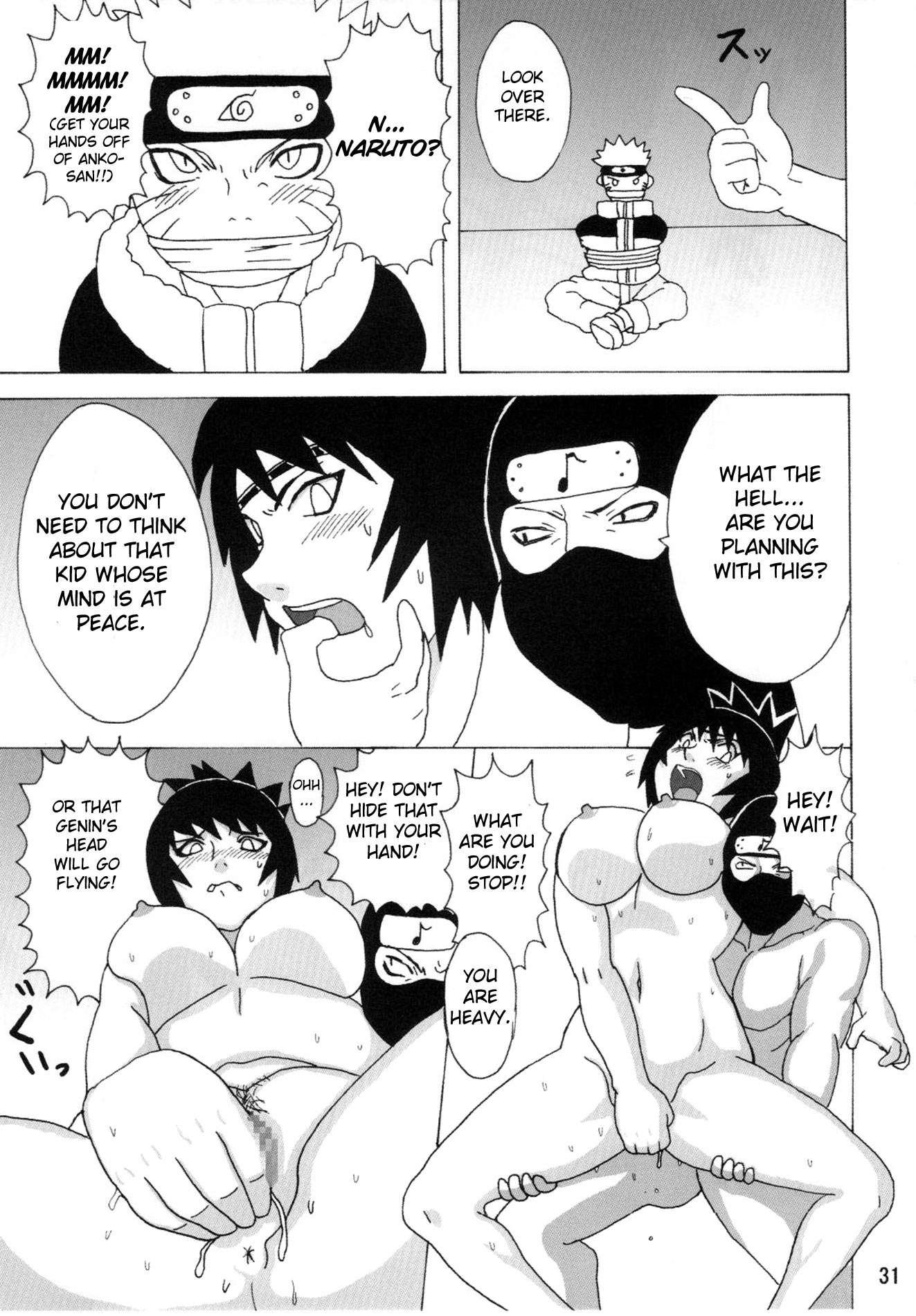 Anko Mitarashi Hentai Manga Good reading mitarashi anko hon (doujinshi) hentainaruho do - 1