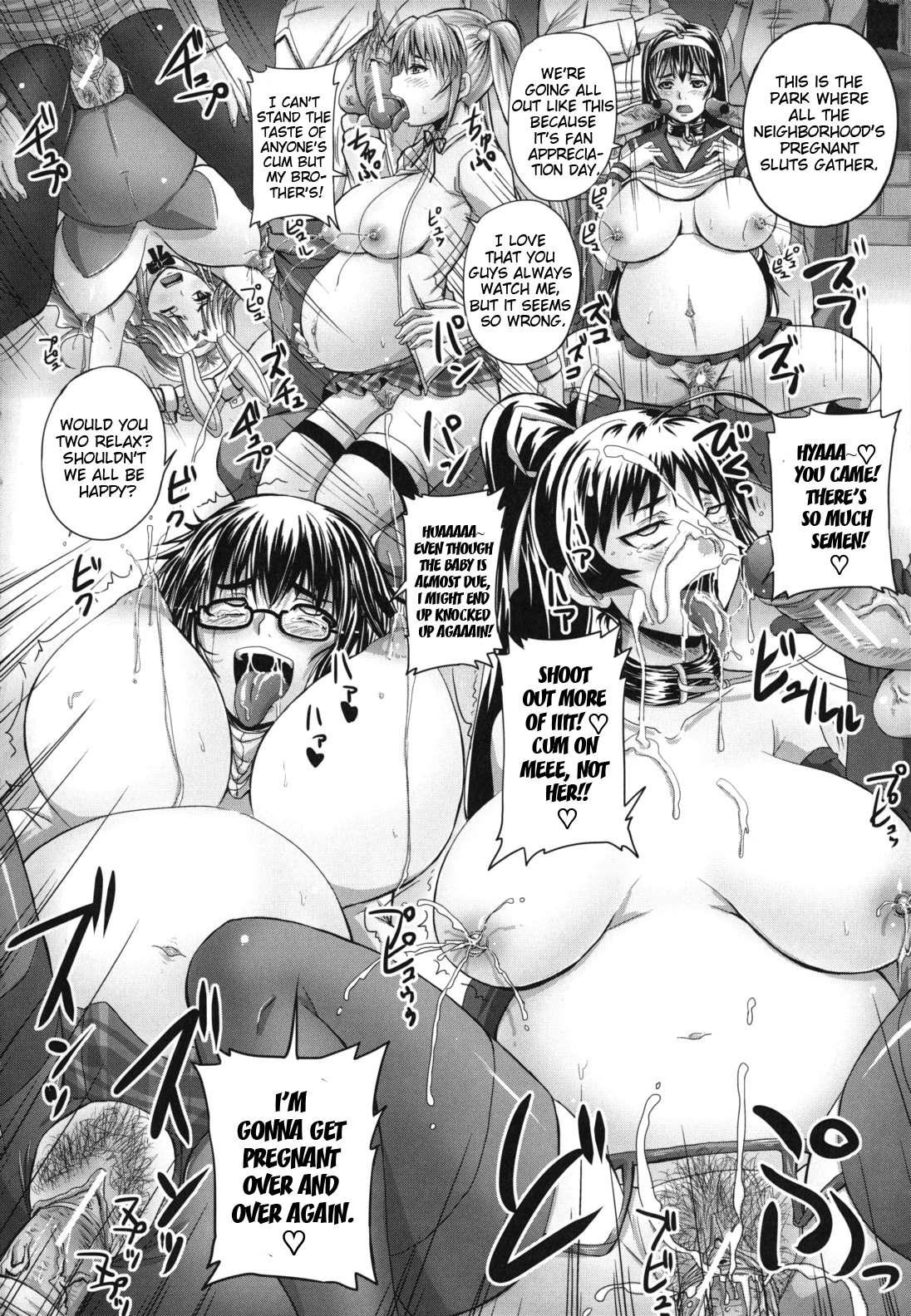 Almost pregnant hentai